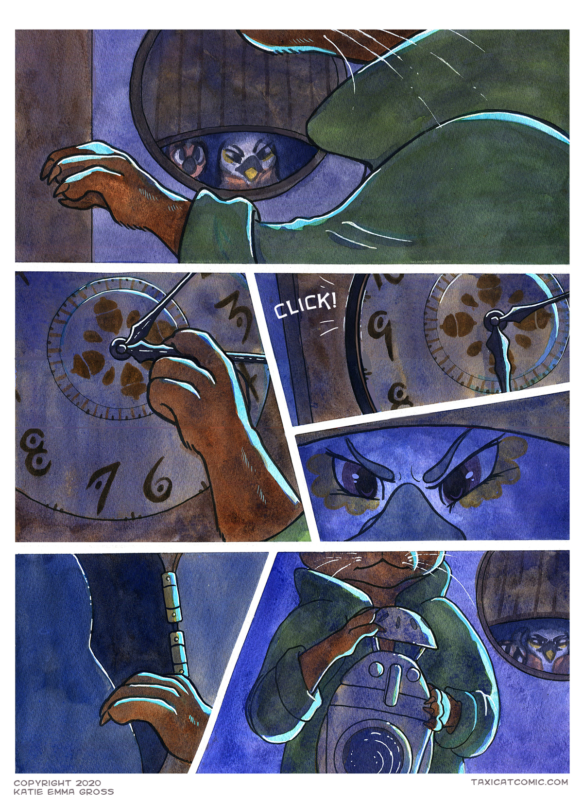 I keep ALL my secret, possibly illegal treasures inside my clock! Don't you?